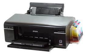 Máy in Epson T50 - 60 lỗi sai màu, 2 đèn đỏ, bị sọc,...