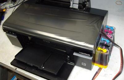 Ngộp mực máy in Epson T50 - 60
