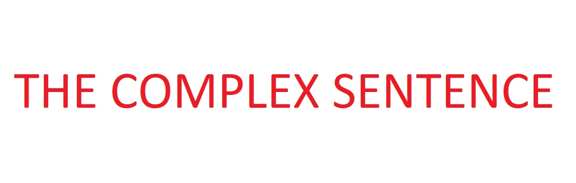 Bài tập về loại câu phức (the complex sentence)