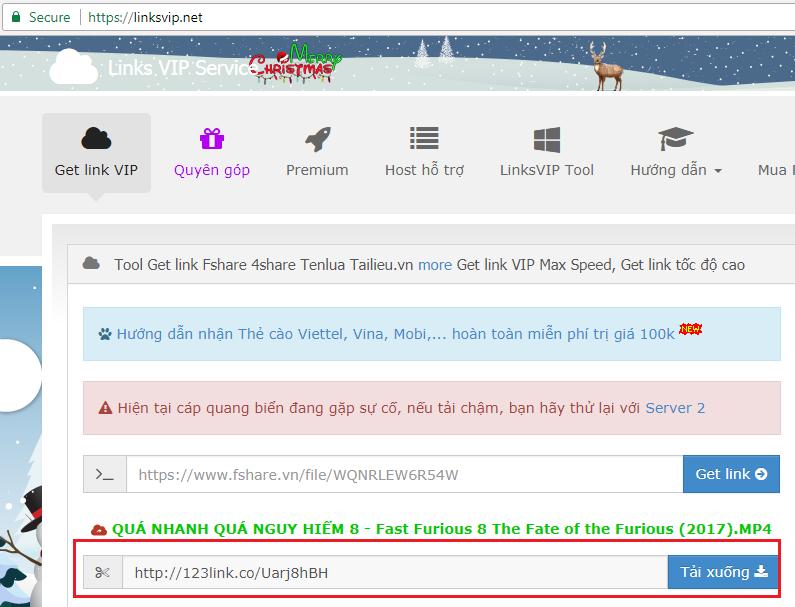 Hướng dẫn getlink để download Fshare nhanh hơn   Thư Viện