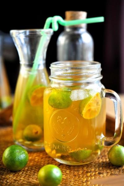 Cách làm thức uống ngon, bổ dưỡng từ trái Tắc