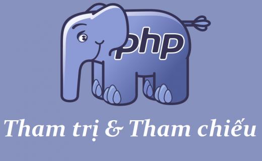 Tham trị và tham chiếu trong PHP