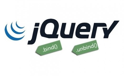 bind() và unbind() trong jQuery